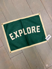Oxford Pennant: Explore Camp Flag