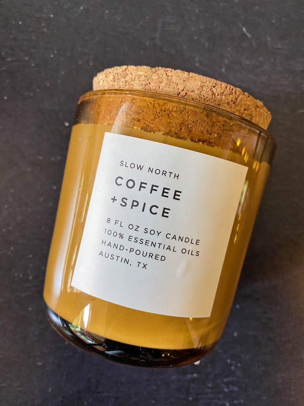 Slow North: Coffee + Spice Candle