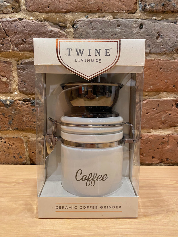 Twine: Ceramic Coffee Grinder