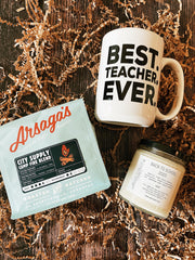 Best Teacher Ever Gift Set