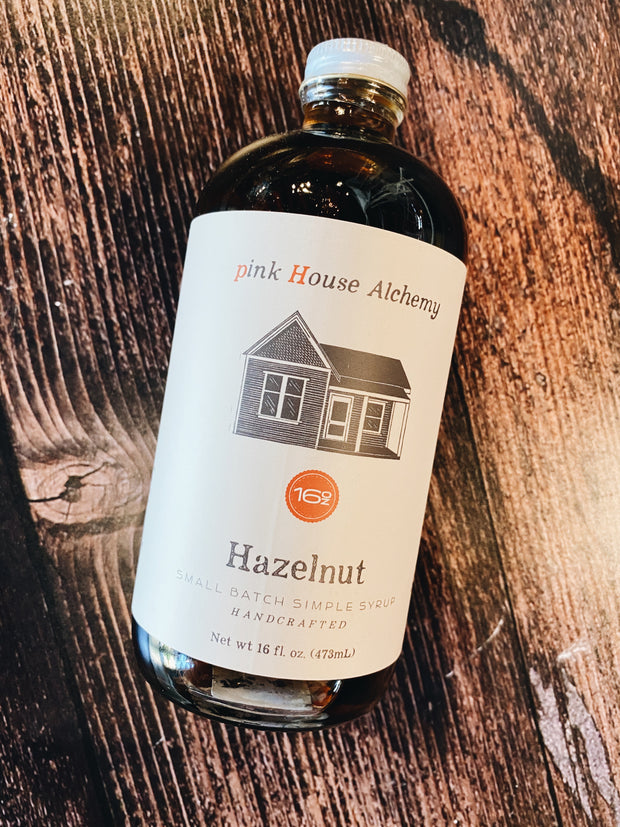 Pink House Alchemy: Hazelnut Syrup