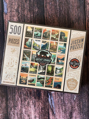 True South Puzzle: Great Smoky Mountains Patches
