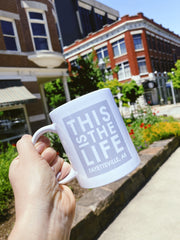 This Is The Life Fayetteville Arkansas Mug