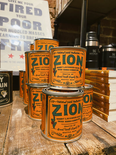 Good & Well Supply Co. - Zion Candle - Desert Lavender, Sage & Dried Herbs