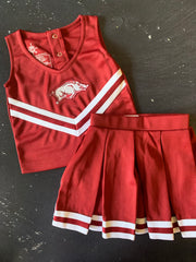 Arkansas Cheer Uniform + Bloomer