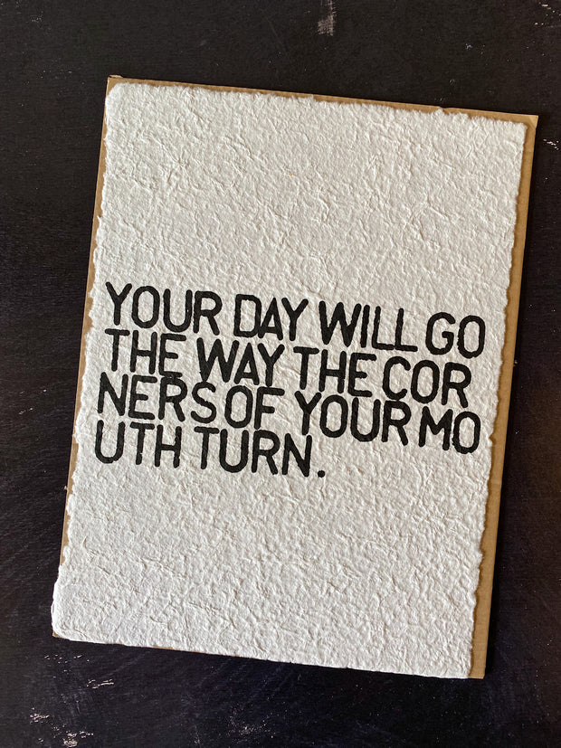 Sugarboo & Co: Handmade Print - Your Day Will Go