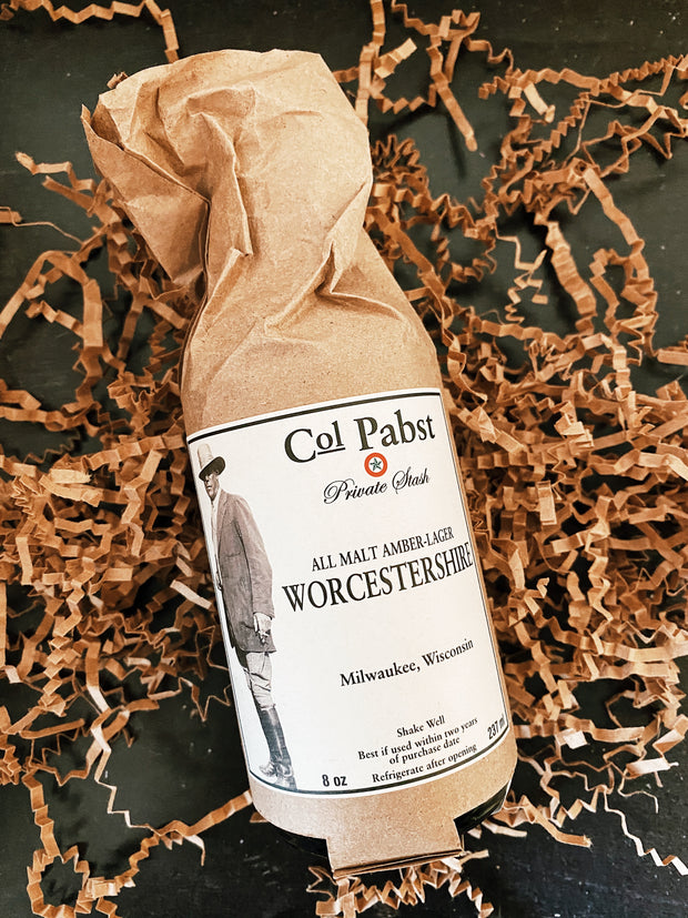 Colonel Pabst: Worcestershire Sauce