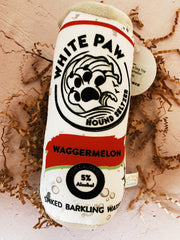 White Paw Dog Toy - Waggermelon