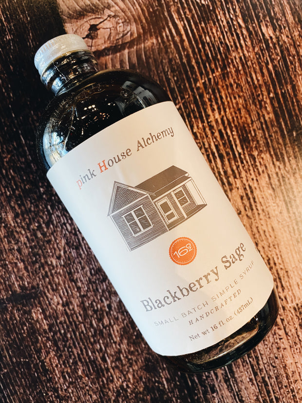 Pink House Alchemy: Blackberry Sage Syrup