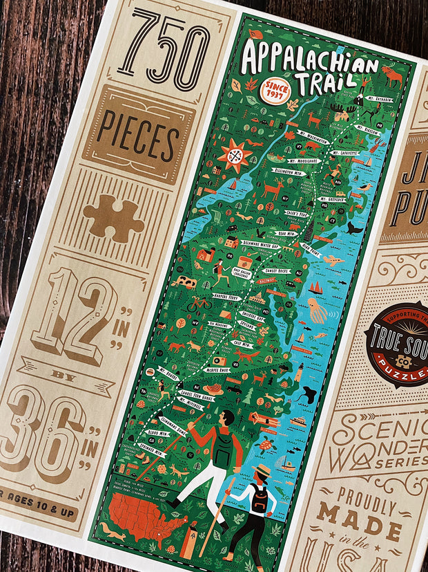 True South Puzzle: Appalachian Trail