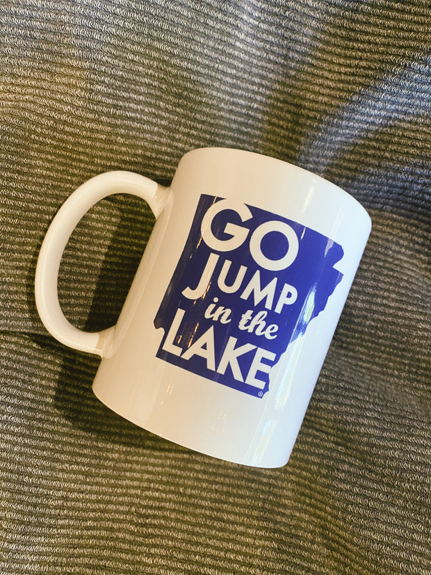 Go Jump In The Lake Arkansas Mug
