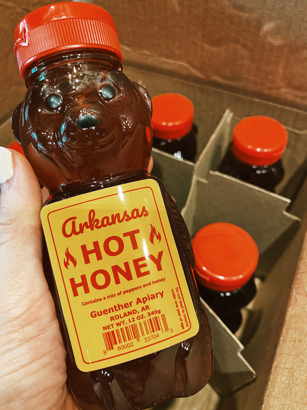 Guenther Apiary: Arkansas Hot Honey