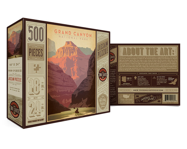 true south puzzle: grand canyon