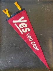 Oxford Pennant x Kelle Hampton: Yes You Can Pennant