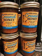 Guenther Apiary: Arkansas Creamed Honey - Blueberry
