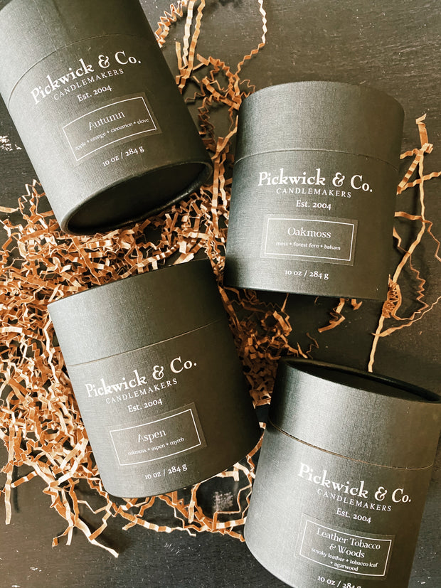 Pickwick & Co: Leather, Tobacco, & Woods