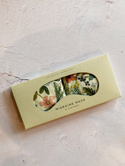 Eye Mask Therapy Pack - Ivory Print