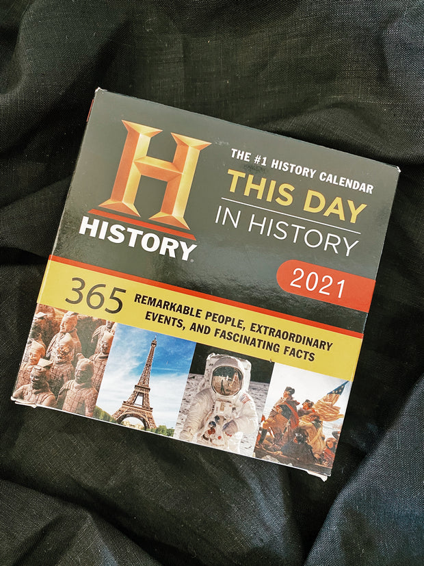 2021 History Channel This Day in History Boxed Calendar