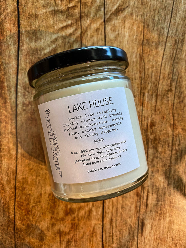 Lovestruck Co: Lake House Candle