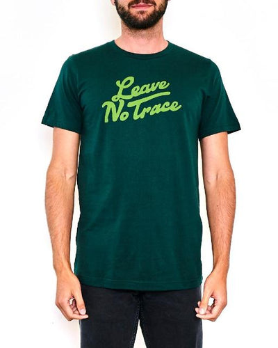 Parks Project: leave no trace tee (forest green)
