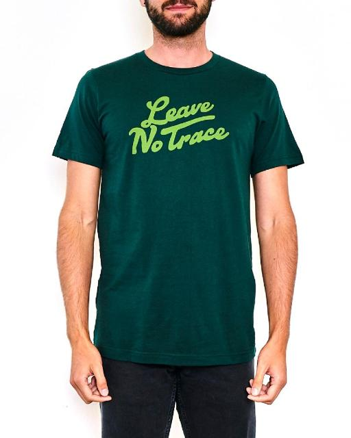 Parks Project: Leave No Trace T-Shirt (Forest Green)