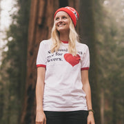 Parks Project: National Parks Are For Lovers Ringer T-Shirt (Women's)