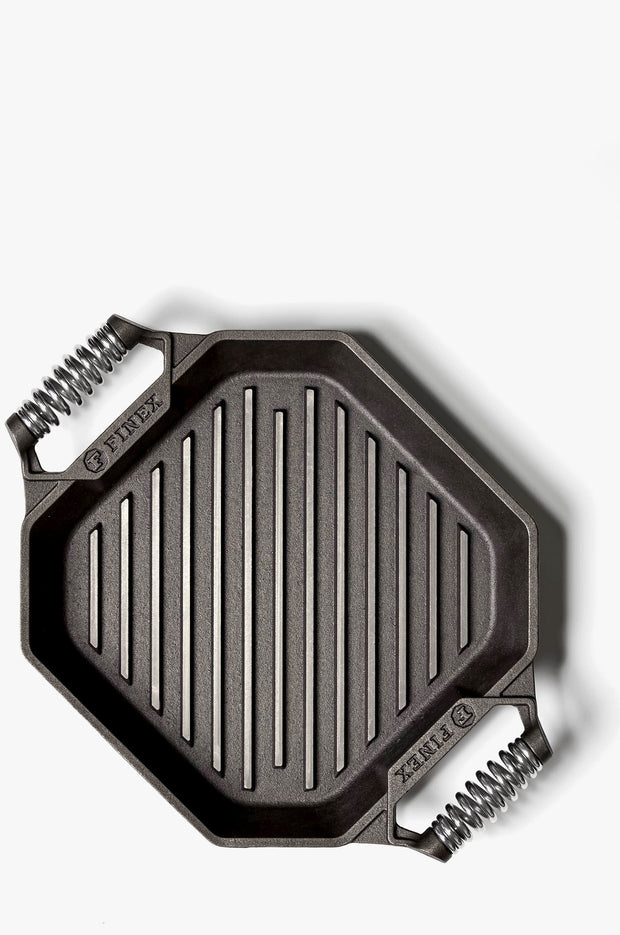 Finex: Double Handled Grill Pan - 12 inch