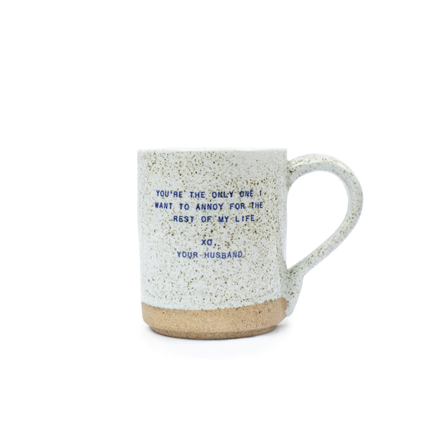 Sugarboo & Co: XO Mug - Your Husband
