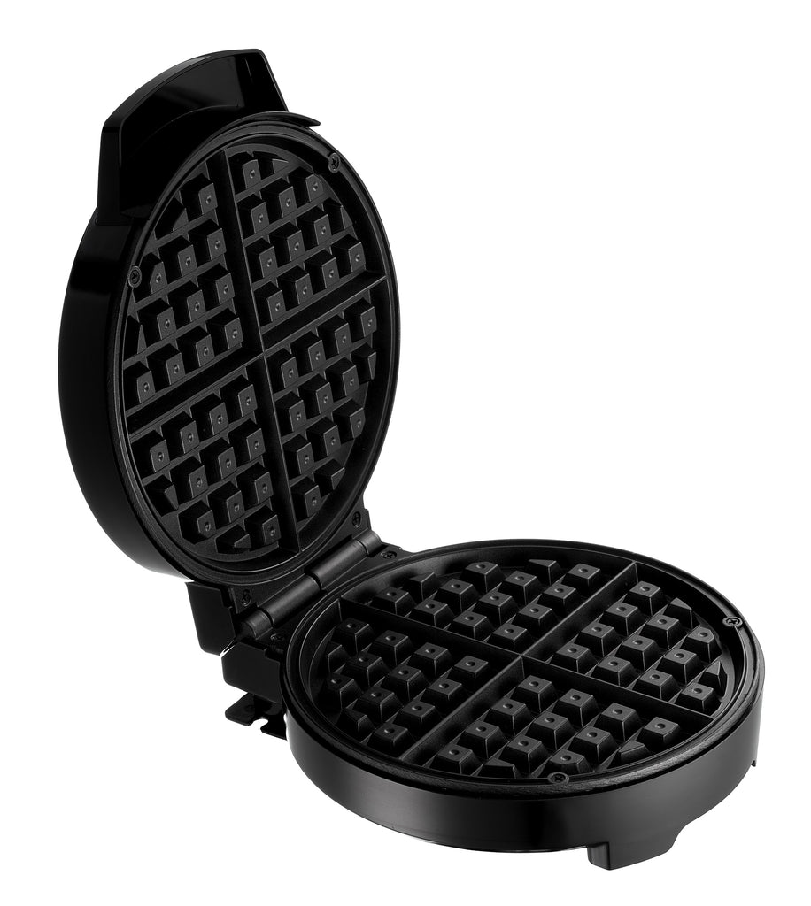 Lumme Waffle Maker Belgian Waffle Maker Led Light indicator, Nonstick Plate, Machine Belgian Waffle Maker for Individual Waffles, Paninis, Hash browns, other on the go Breakfast, Lunch, or Snack Black
