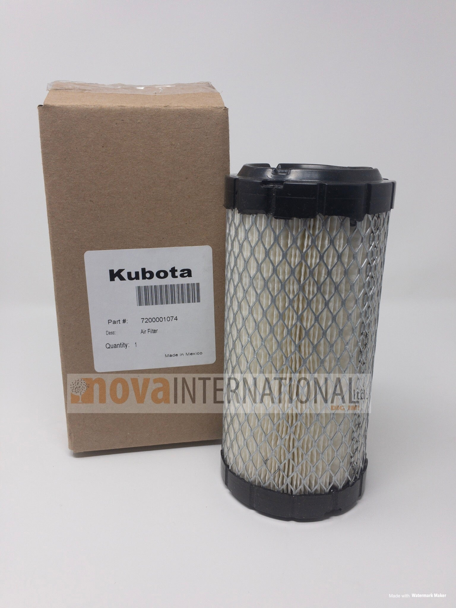 Single (Outer) Air Filter 72000-01074