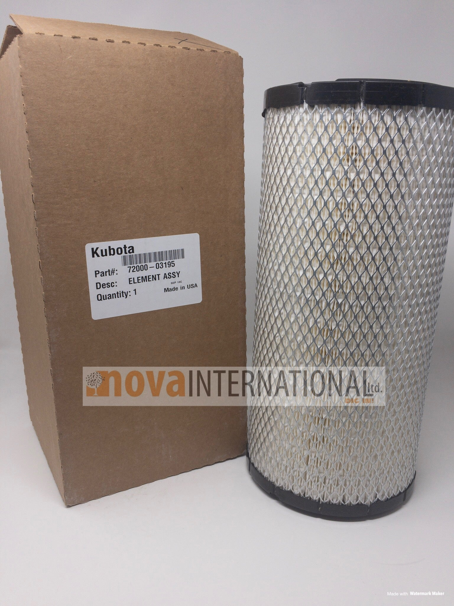 Outer Air Filter 72000-03195