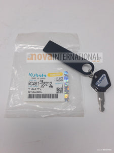 Ignition Key - Construction - Programable - Anti Theft RC461-93212