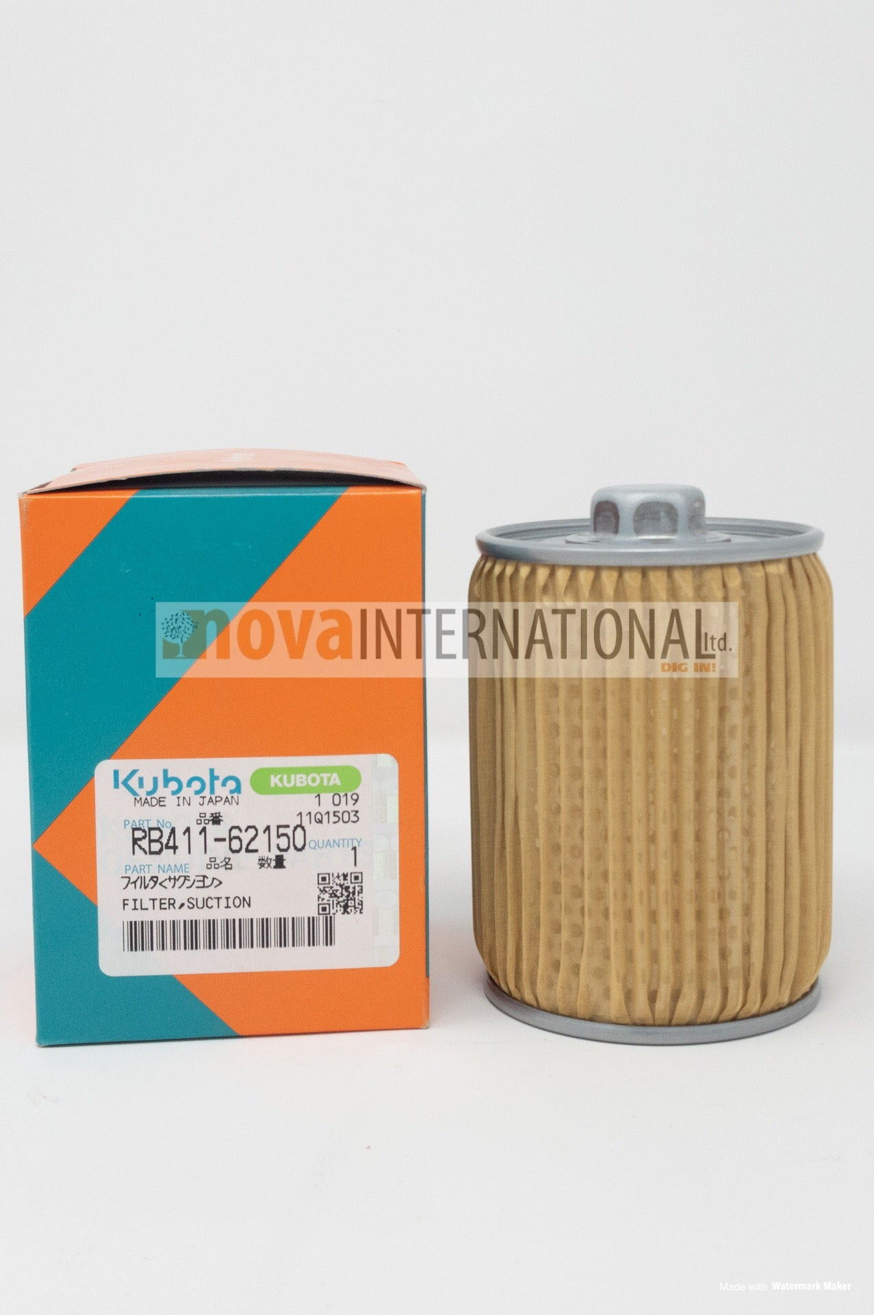 Hydraulic Suction Filter RB411-62150
