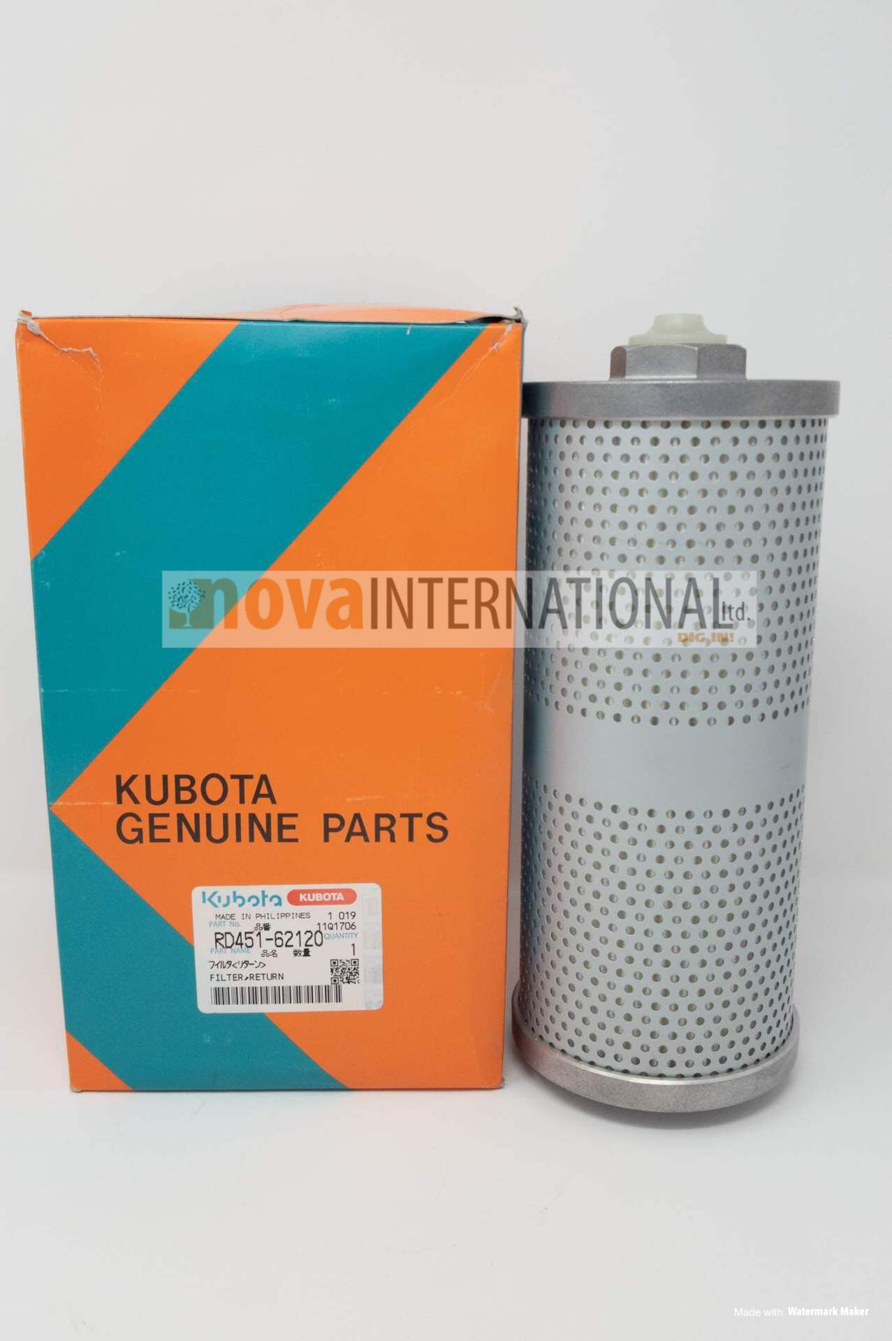 Hydraulic Return Filter RD451-62120