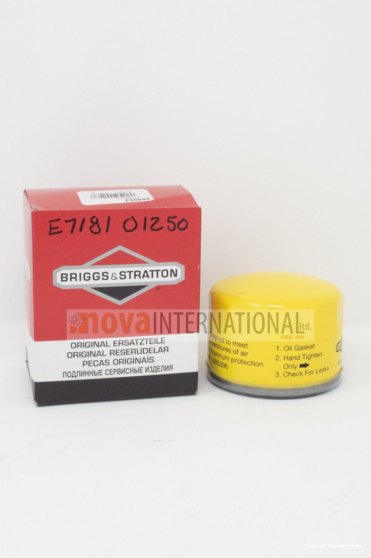 Engine Oil Filter E7181-01250