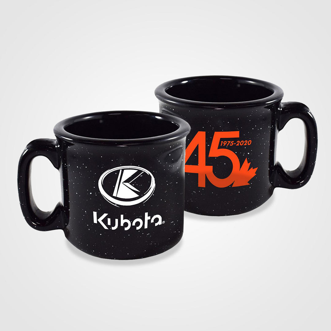 45 Years Ceramic Camper Mug