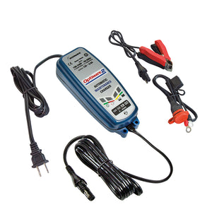 OptiMATE 2 Global, 4-step 12V 0.8A Battery Charger-Maintainer