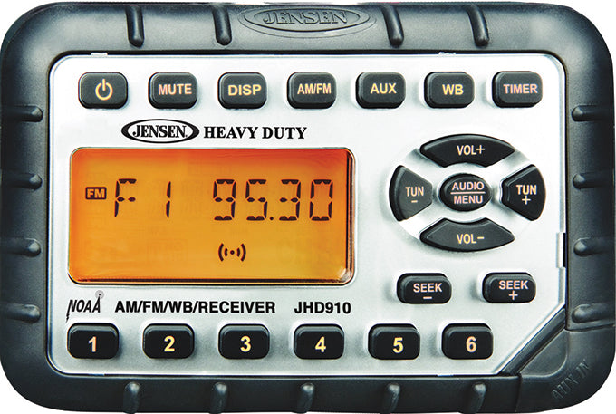 Heavy Duty MINI Waterproof AM/FM/WB/MP3 Radio