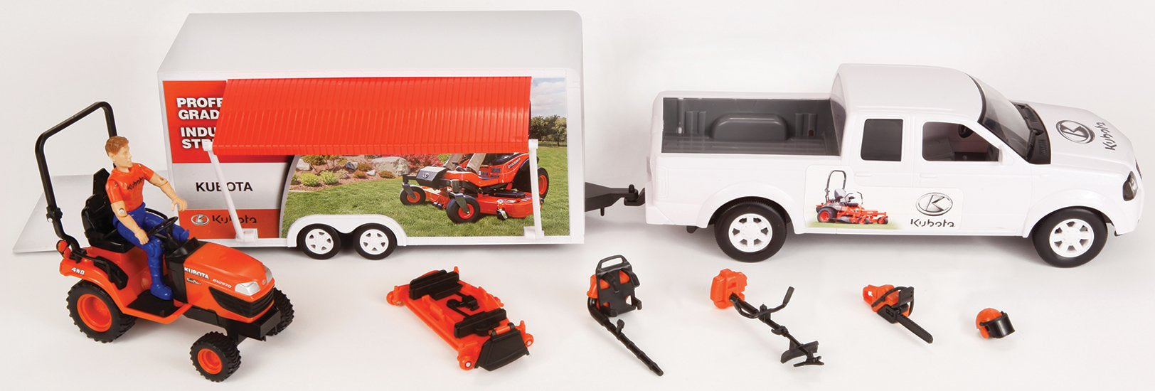10 Piece Turf Truck Set