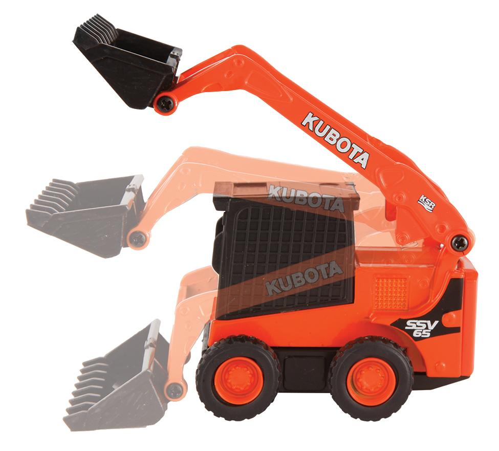 KX040-4 & SSV65 Skid Steer Pull-Backs