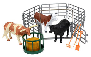 L6060 Tractor with Ranch Cows Playset