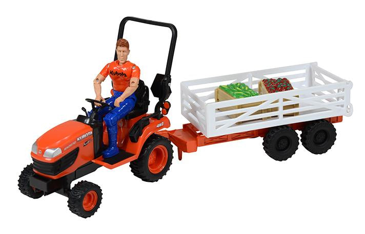Tractor with Farm Animals Playset