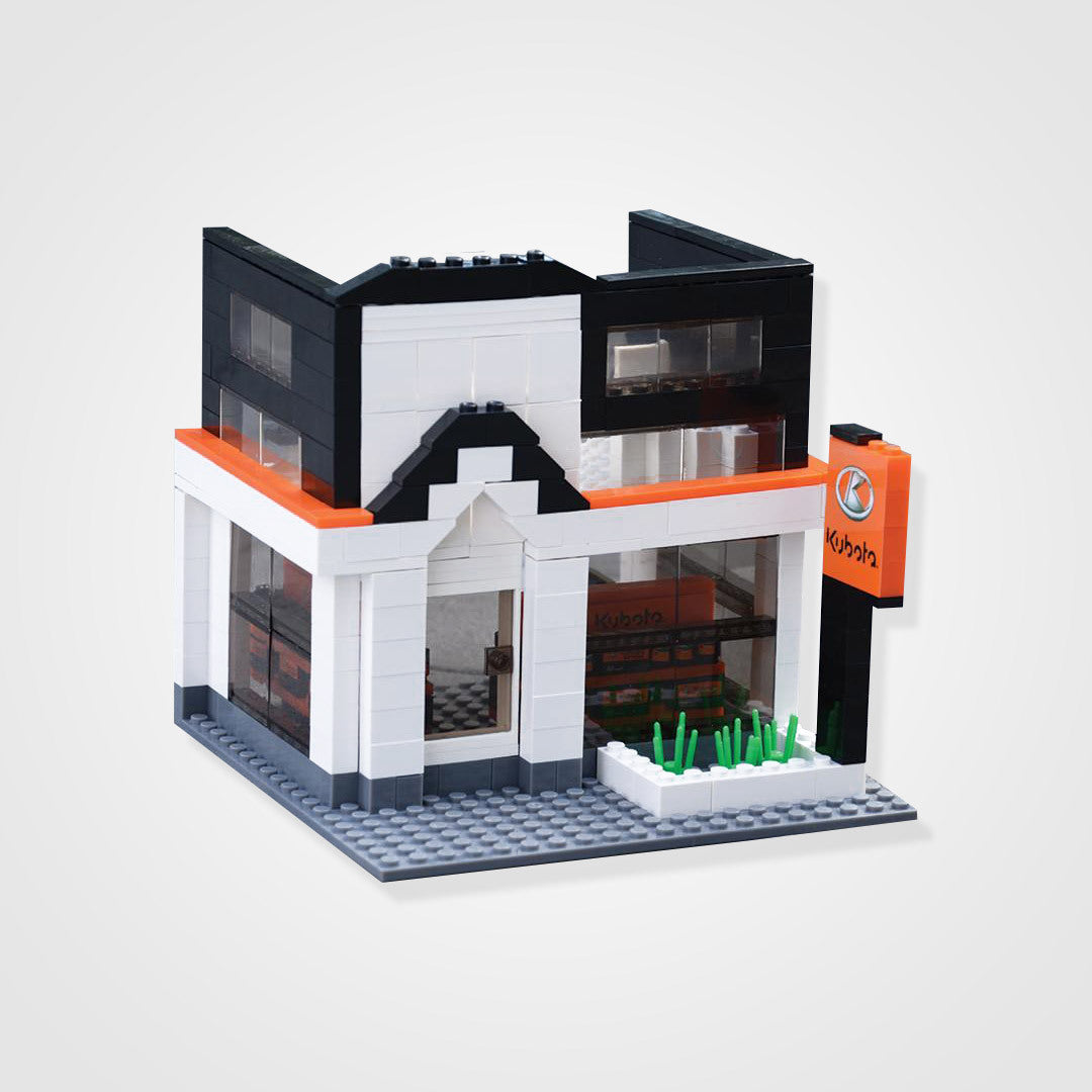 350 Piece Dealership Building Blocks Set