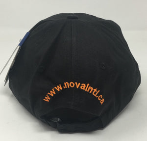 Black Nova International Cap (Orange Lining)