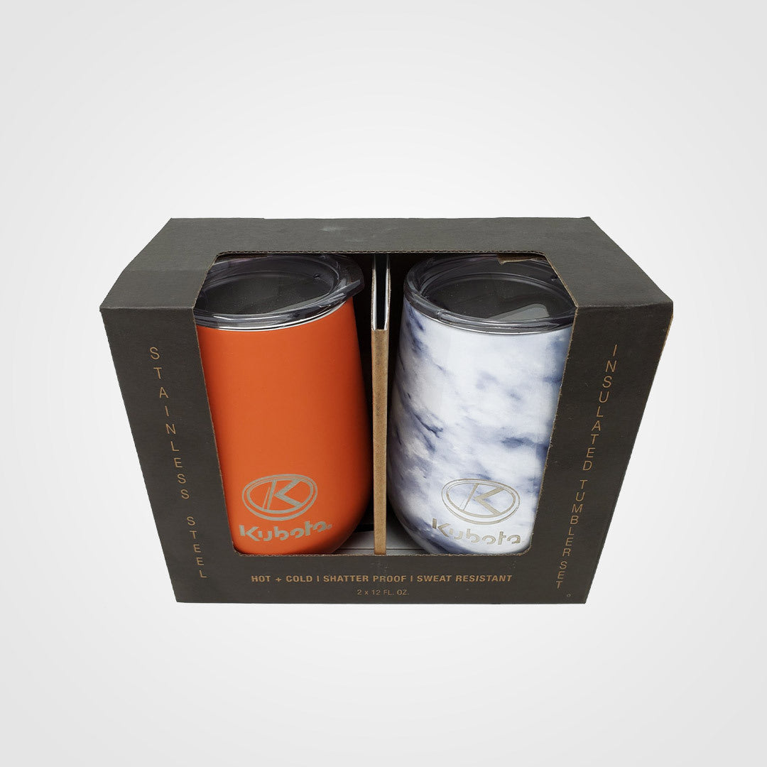Insulated Tumbler with Lid - 2pk