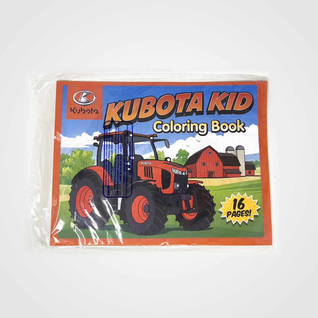 Kubota Coloring Book