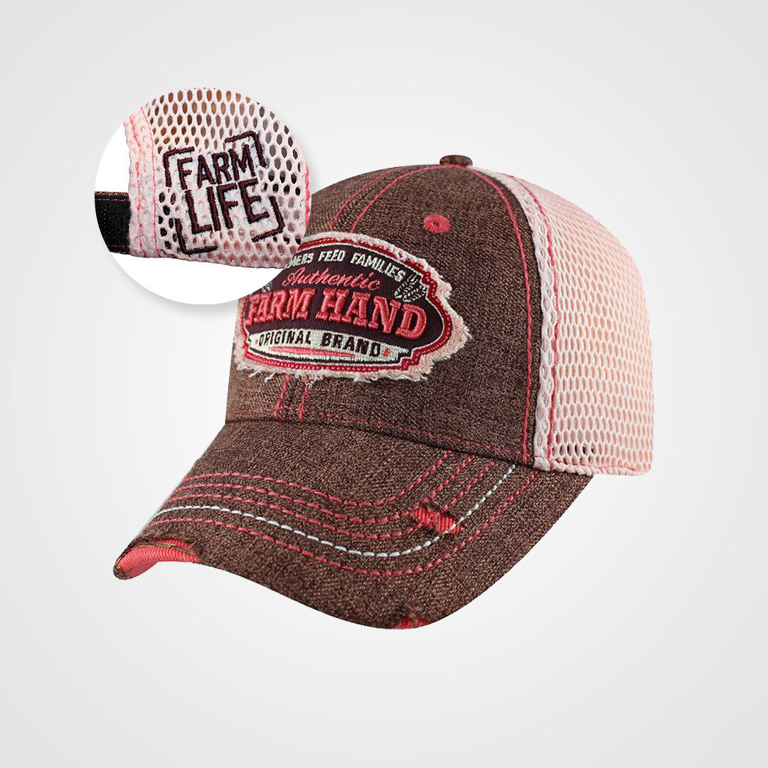 Ladies Kubota Farm Hand Mesh Back Velcro Cap