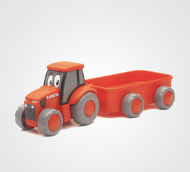 My Lil' Orange Tractor & Wagon