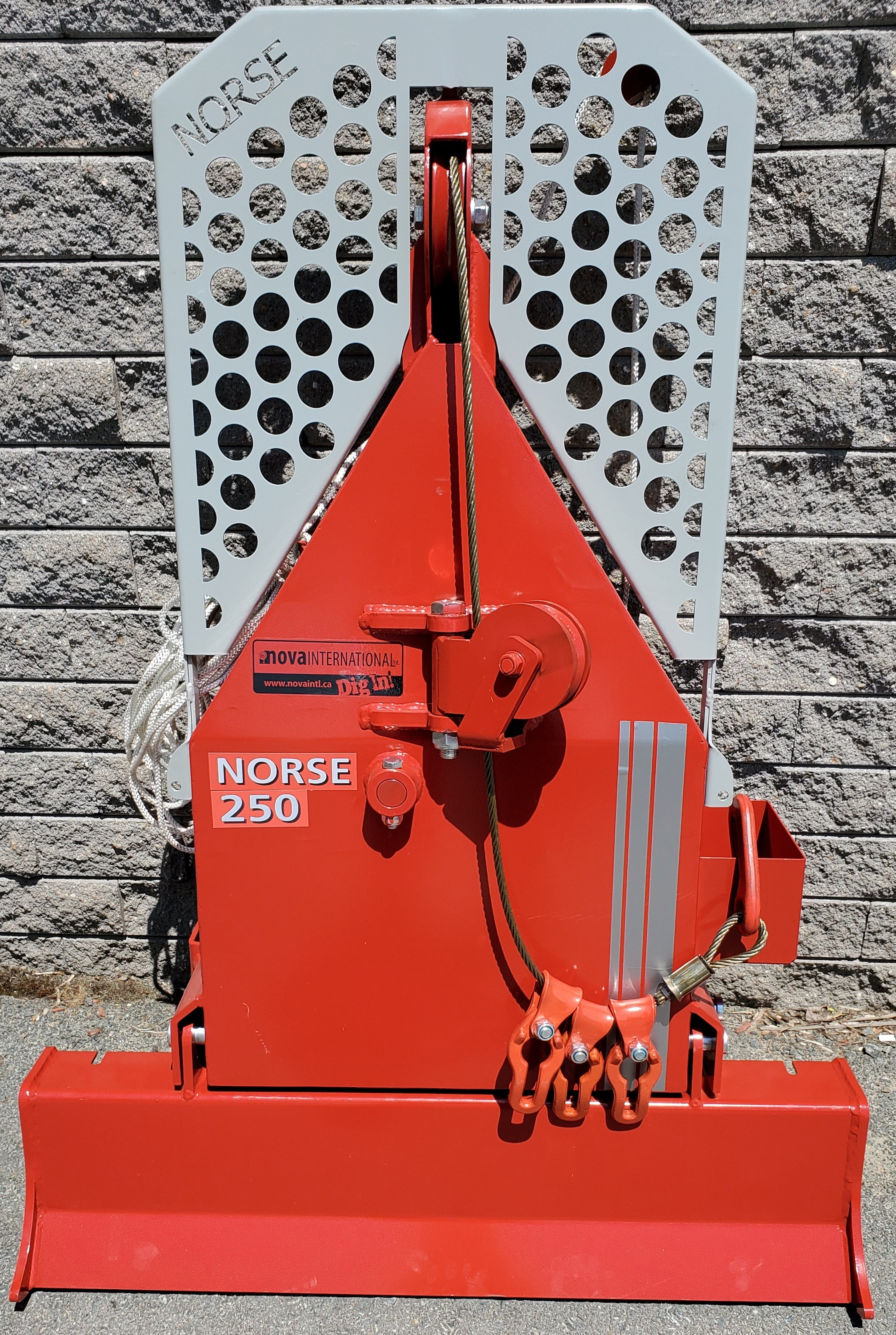 Norse 250 Logging Winch