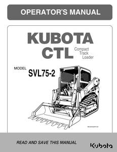 SVL75-2 Operators Manual